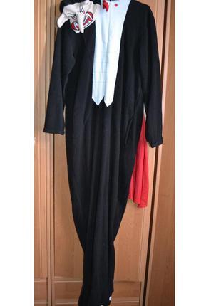 Мужской карнавальный костюм на хэллоуин, хеловин, хеллоуин, вампир, дракула, s
