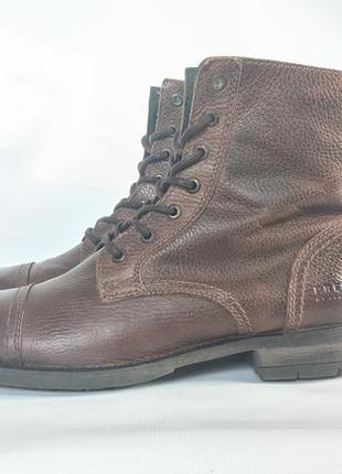 Шкіряні черевики кожаные ботинки jack jones оригинал