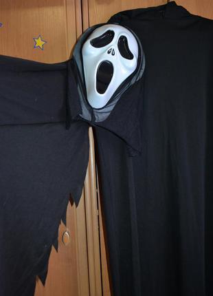 Мужской карнавальный костюм на хэллоуин, хеловин, хеллоуин, крик