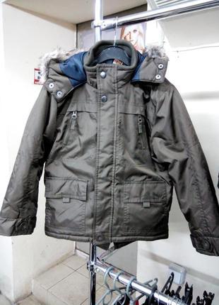 Супер куртка парка для мальчиков
