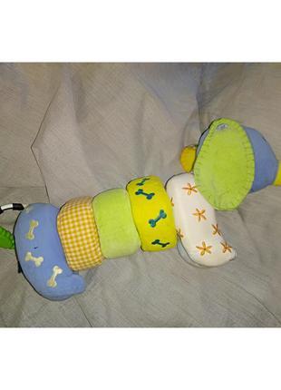Мягкая игрушка - погремушка, шуршалка, прорезыватель.