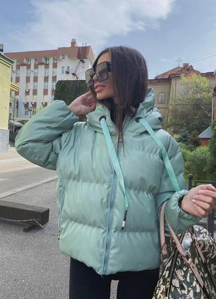 Зимняя куртка в стиле zara