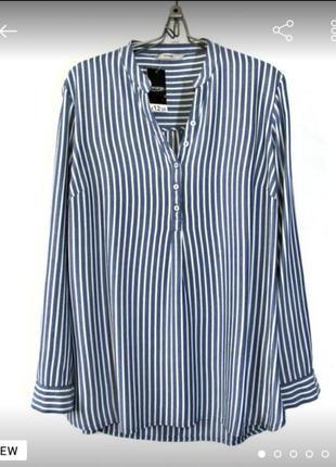 Стильная  блуза/ рубаха  из приятной  вискозы.