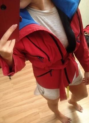 Стильный пуховик куртка на флисе, x's-m