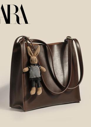 Очень естетична сумка zara🥰 с кроликом