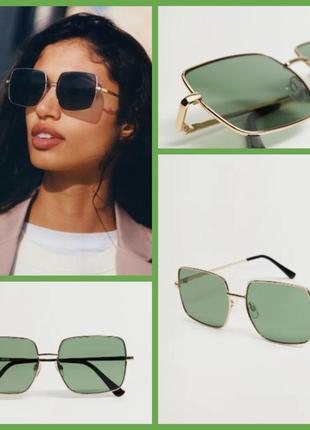 Солнцезащитные очки в квадратной оправе. манго. оригинал с европы