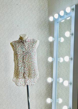 Шикарная блуза рубашка топ кофточка