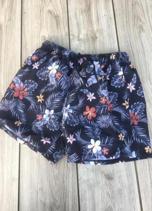 Стильные актуальные пляжные шорты h&m zara asos легкие летние тренд