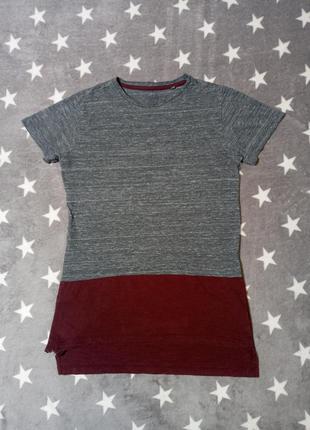 Удлинённая футболка next 10/11 лет, рост 146 см, длинна футболка