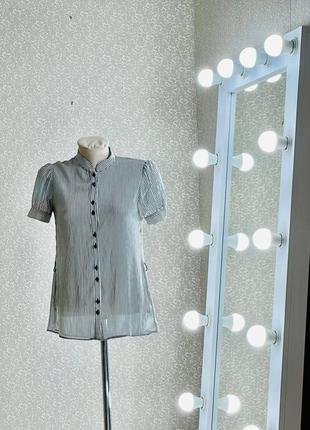 Шикарная блуза топ кофточка рубашка