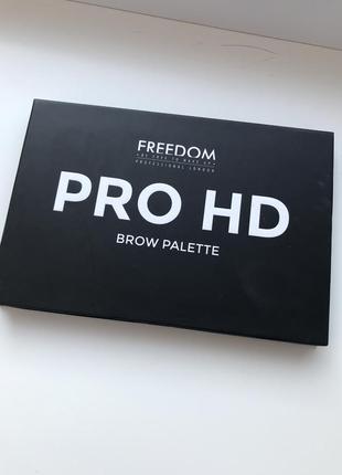 Тени для бровей freedom pro hd brow palette