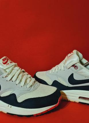 Nike air max 1 38.5р  24.5см кроссовки