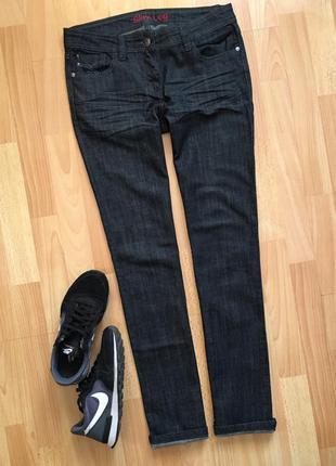Доступно - темно-синие джинсы -slim- *next* 10 р.