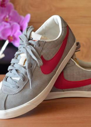 Женские кроссовки nike grey sneakers wmns bruin lite, (р. 37)