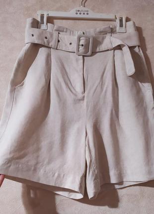 Супер стильные шорты бермуды norr, xs-s