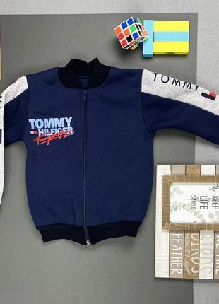 """✔ тёплая кофта для мальчиков """"tommy hilfiger"""" томми хилфигер (рост 86-92,92-98,98-104)"""
