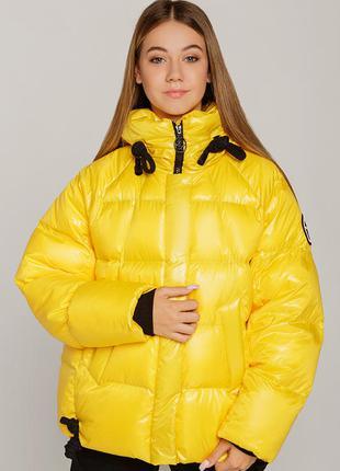 Зимняя подростковая куртка-пуховик - 38-44(140-158)