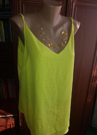 Шифоновая блуза 50-52р (много вещей больших размеров)