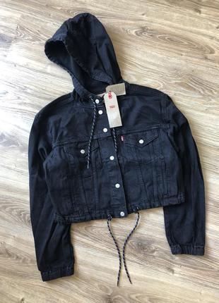 Крутая джинсовая куртка от levi's