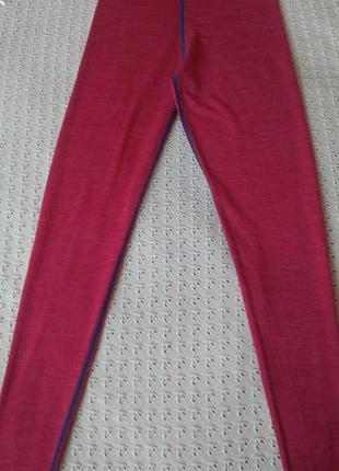 Термоштани з мериносової вовни термо легінси термобілизна термобелье шерсть мериноса штаны леггинсы