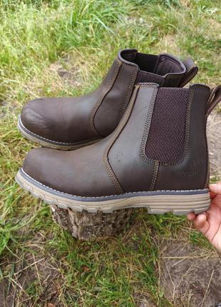 Ботинки чоботи черевики dunlop apache рабочие кожаные стальной носок