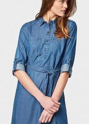 Платье джинс l 12 48