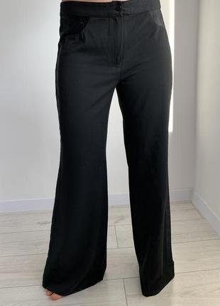 Штани класичні, чорні штани, кльошні штани, черные брюки, расклешенные брюки.