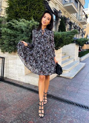 Легкое платье мини