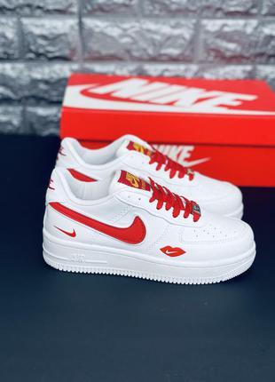 Nike air force af1 red love