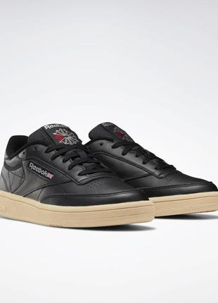 Жіночі кросівки кеди чорні. club c 85.