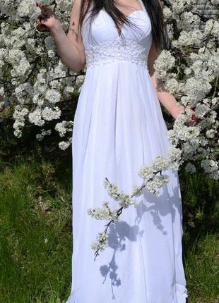 Продам свадебное платье в греческом стиле.