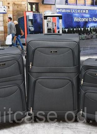 Дорожный чемодан на 4-х колесх ormi