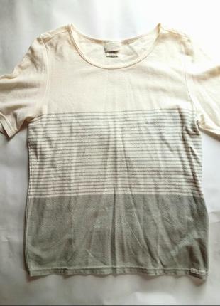 Фирменная футболка в полоску blue willi's хлопок