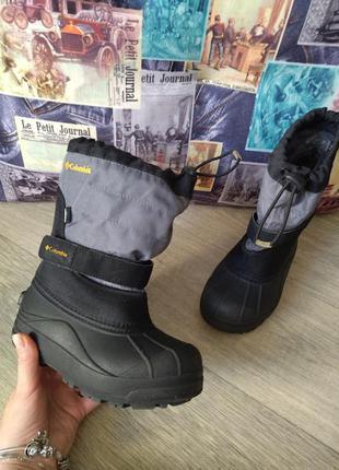 Детские сноубутсы columbia toddler powderbug plus ii waterproof winter boot