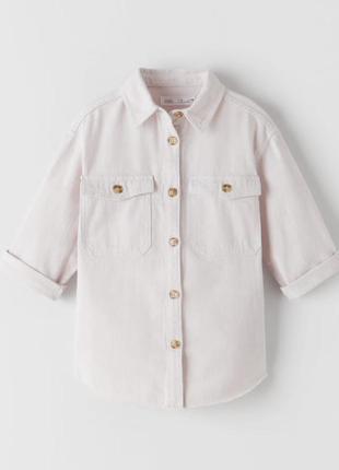 Крутая рубашка zara