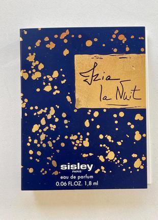 Sisley izia la nuit