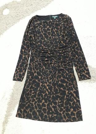 Шикарное трикотажное платье lauren ralphlauren
