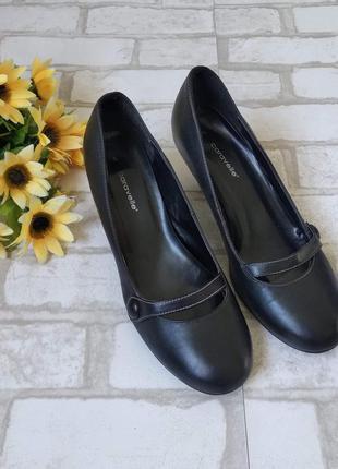 Туфли черные женские caravelle