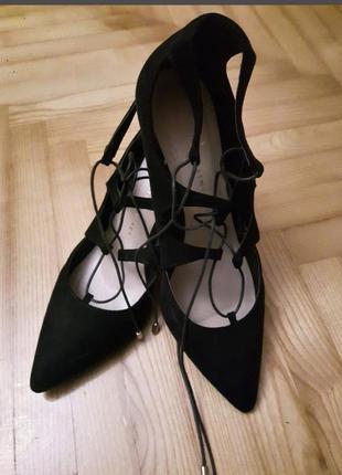 Стильные удобные туфли с шкурками atmosphere primark