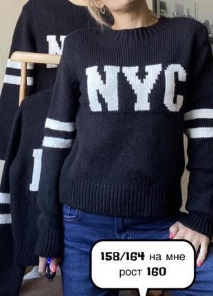 Стильный джемпер свитер c&a 146/152; 158/165 s eur 36