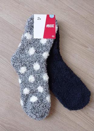 Носки женские теплые травка c&a р.35-38
