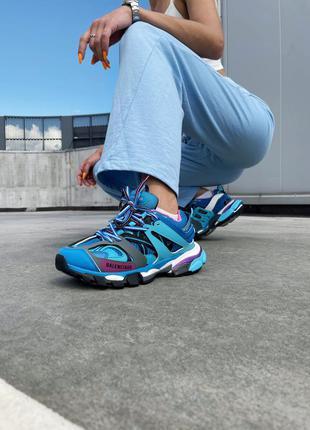 Кроссовки track 3.0 blue pink кросівки