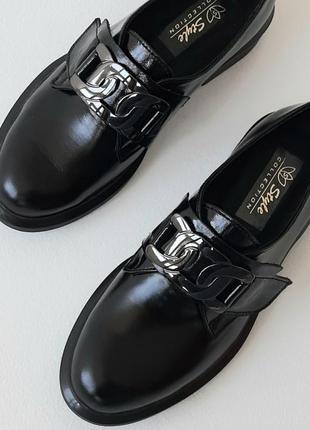 Туфлі жіночі з натуральної шкіри.