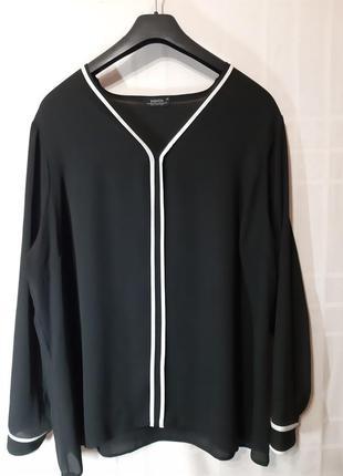Стильная блузка большого размера 20/50.