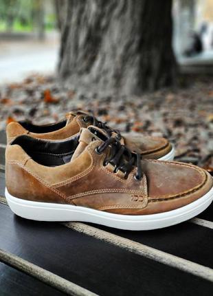 Туфли ботинки ecco оригинал
