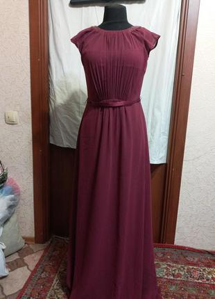 Платье в пол, вечернее,s - m , ц.250 гр