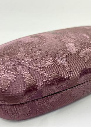 Женский футляр чехол для очков с узором красивого цвета