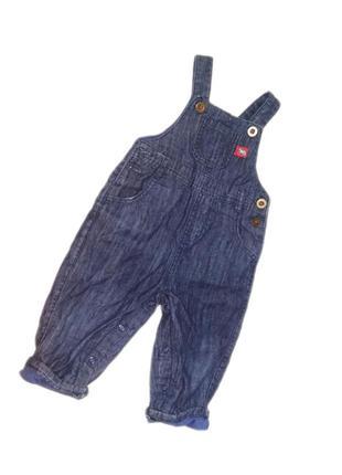 Комбинезон ромпер джинсовый