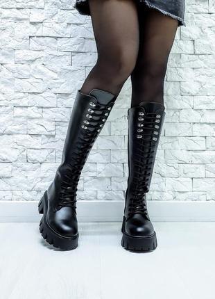 Ботинки military(37 см до подошвы)
