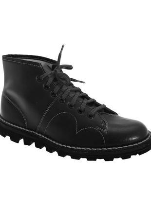 Grafters кожанные ботинки